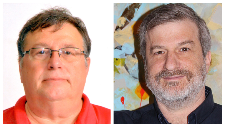 2016 ACM Paris Kanellakis Theory and Practice Award recipients Amos Fiat and Moni Naor