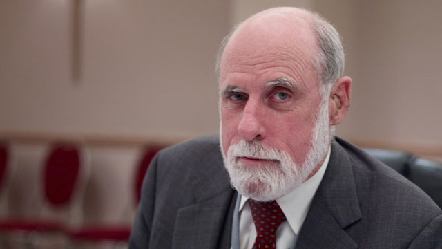 This is an image of Vint Cerf