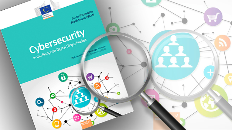 Image of cybersecurity report cover