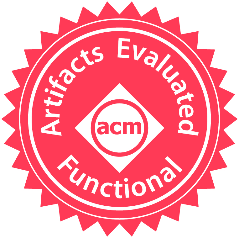 ACM's Artifacts Evaluated – Functional Badge
