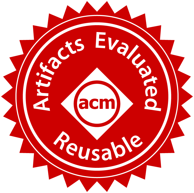 ACM's Artifacts Evaluated – Reusable Badge
