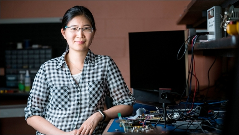 ACM-W Rising Star Award recipient Vivienne Sze