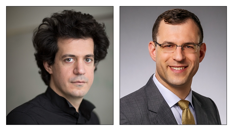 2018 ACM Grace Murray Hopper recipients Constantinos Daskalakis and Michael J. Freedman