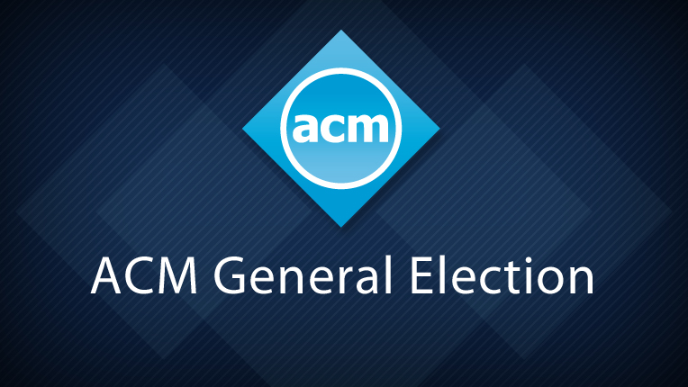 2018 ACM General Election