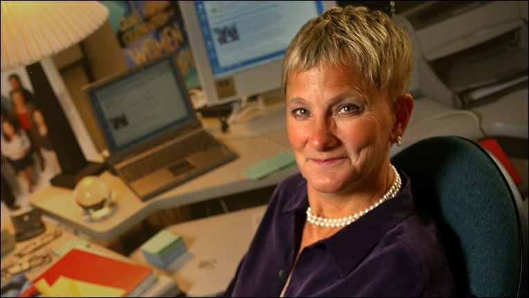 ACM Distinguished Service Award recipient Anita Borg