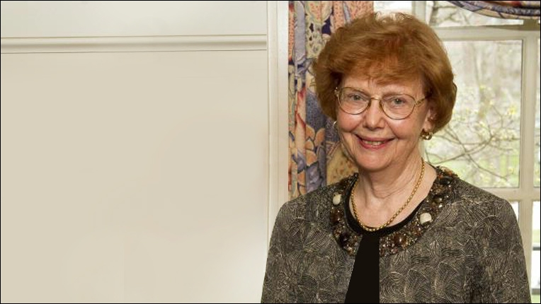 ACM Distinguished Service Award recipient Doris Lidtke
