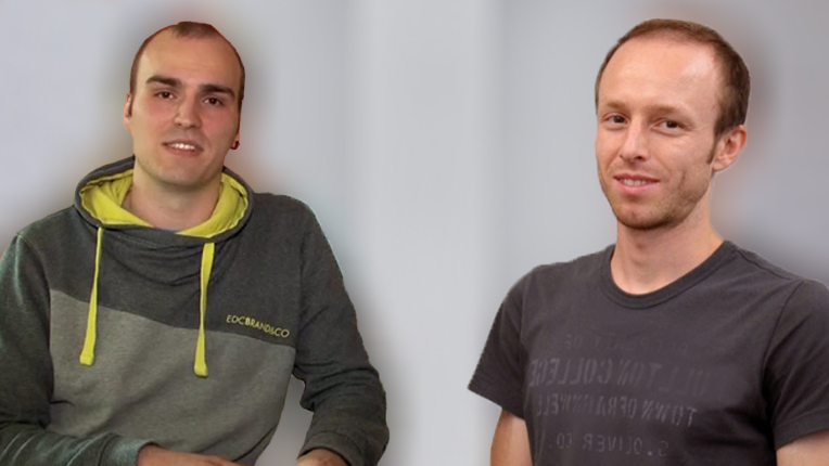 2016 ACM/IEEE George Michael Memorial HPC Fellowship recipients Axel Huebl and Johann Rudi
