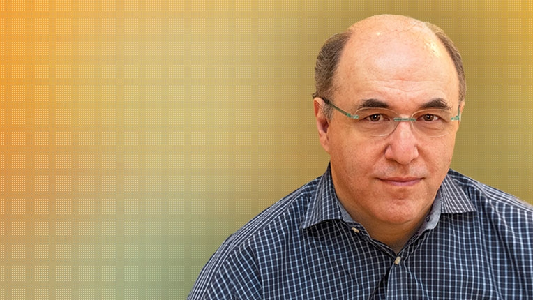 Photo of 2017 SIGSAM Jenks Prize recipient Stephen Wolfram