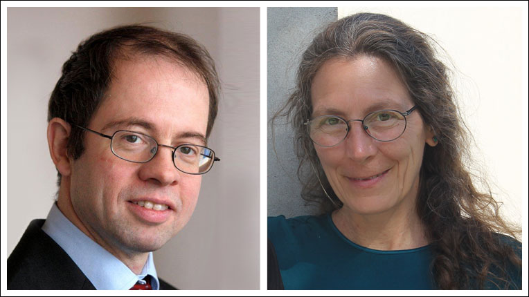 Image of ACM TAP EICs Martin Giese and Victoria Interrante