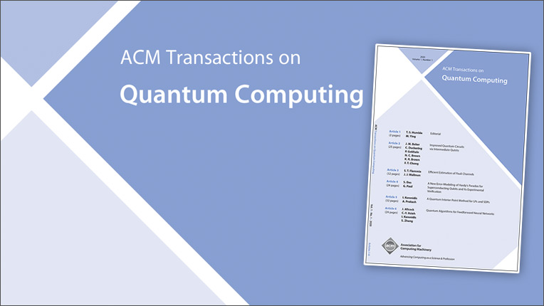 ACM Transactions on Quantum Computing