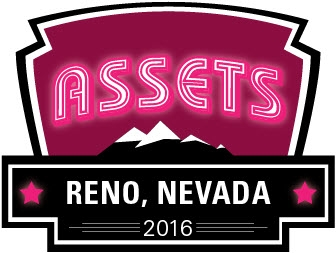 ASSETS'16 SRC at this year's ASSETS conference in Reno, Nevada