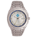 men's silver waverly watch